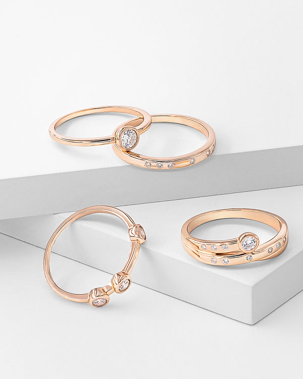 Amelia Stackable Ring Set
