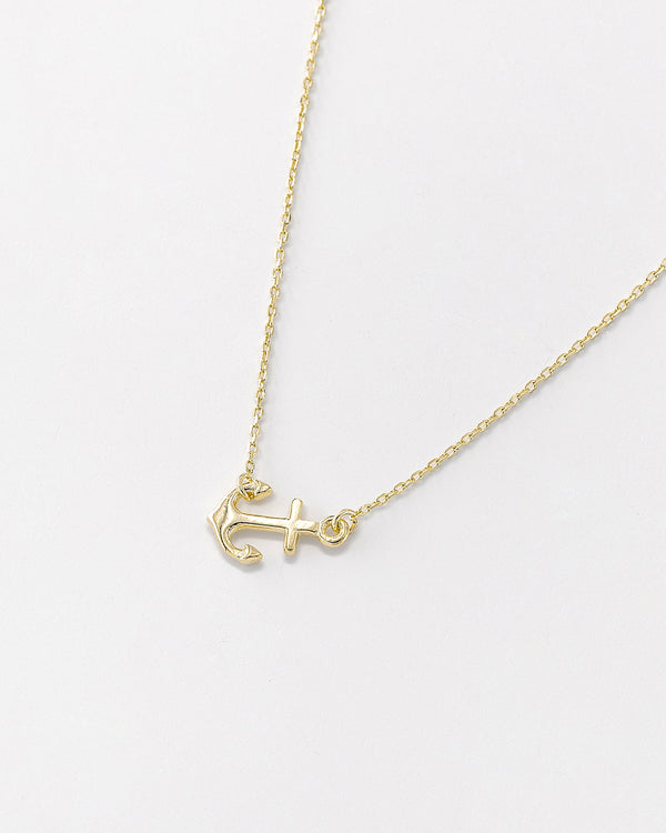 Dede Anchor Necklace
