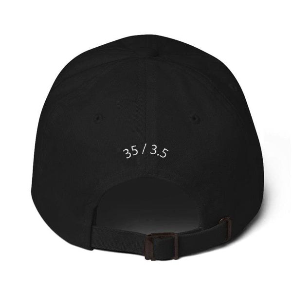 Big Mini Embroidered Dad Cap (Black) - Third Culture