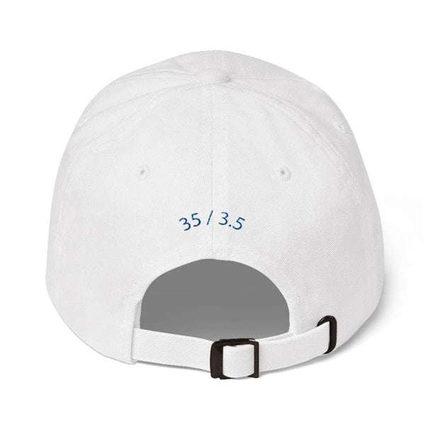 Big Mini Embroidered Dad Cap (White) - Third Culture