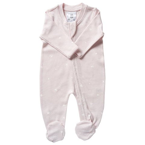 Organic Cotton All In One - Shell PinkStar