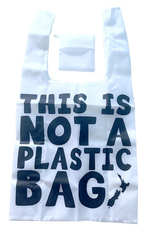 Foldable Shopper - This Is Not A Plastic Bag