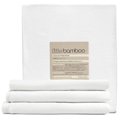 Little Bamboo Bassinet Fitted Sheet