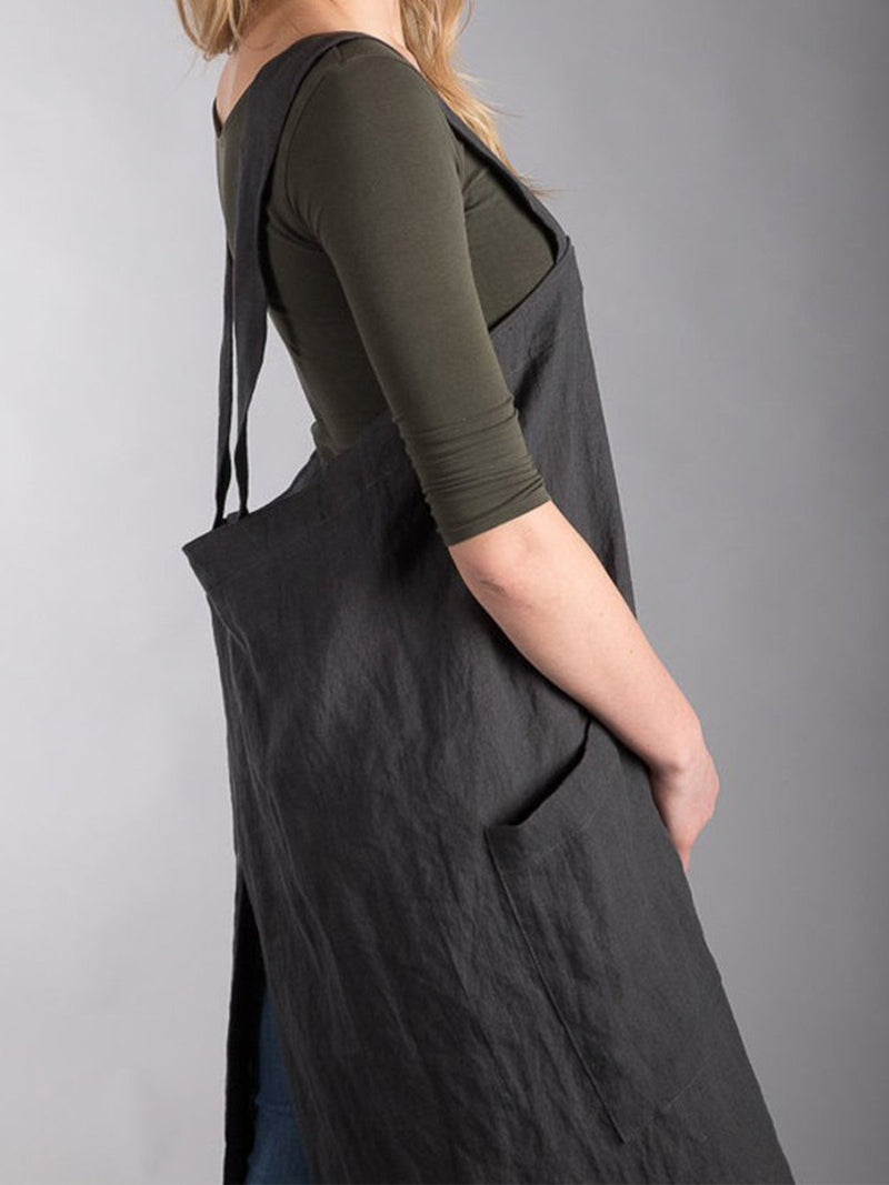 Artisan Cross Over Crossback Apron Pinafore Dresses