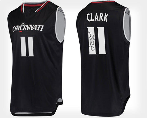 GARY CLARK AUTOGRAPHED BLACK COLLEGE JERSEY