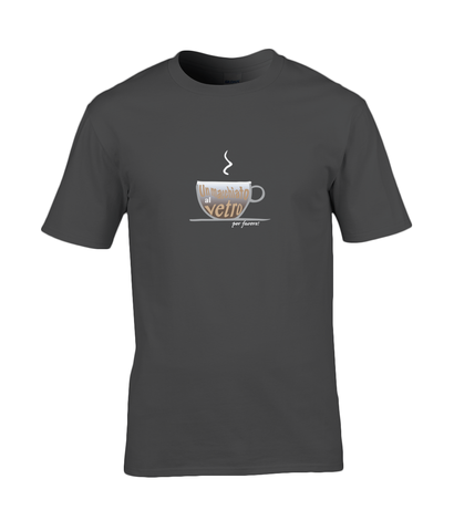 Men's Premium Cotton T-Shirt Macchiato Design