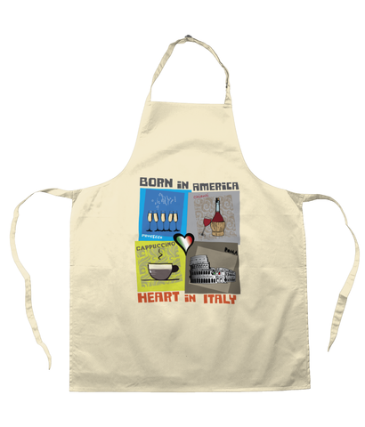 Heart in Italy Apron