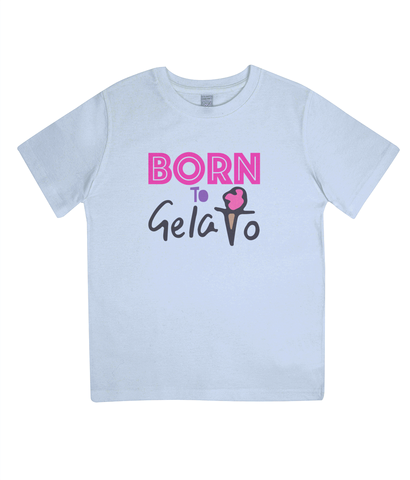 Kids Organic Cotton T-Shirt Gelato Design