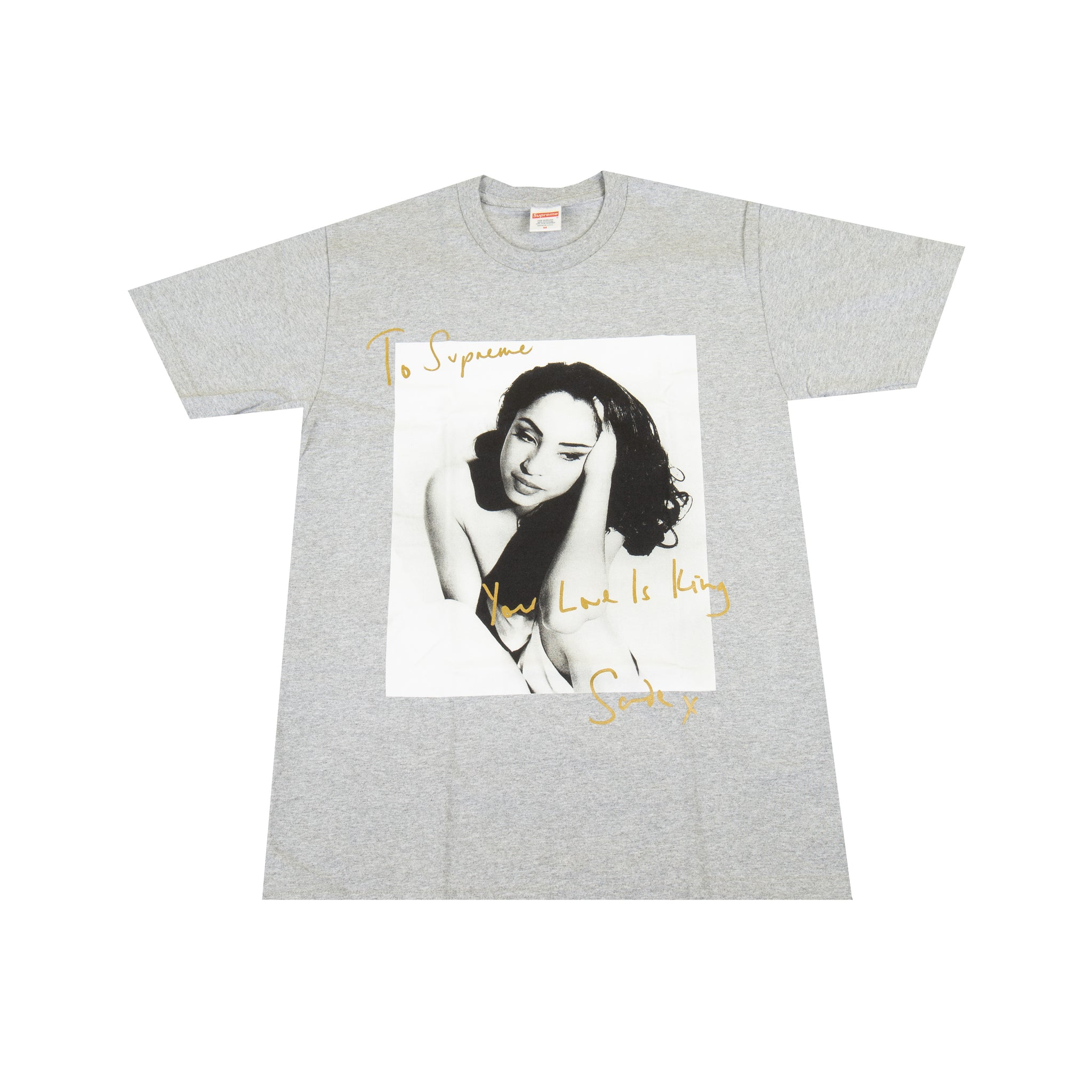 Supreme Grey Sade Tee