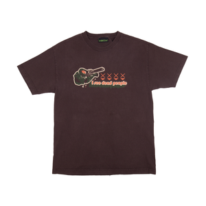 Vintage Brown Halo 2 Dead People Tee