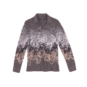 Raf Simons AW08 Yarn Embroidered Swirl Jacket