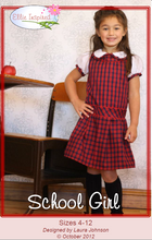 School Girl by Ellie Inspired (Girls 4 - 12)