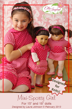 "Sporty Girl by Ellie Inspired (Doll 15"" & 18"")"