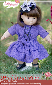 "Texas Rose by Ellie Inspired (Doll 15"" & 18"")"