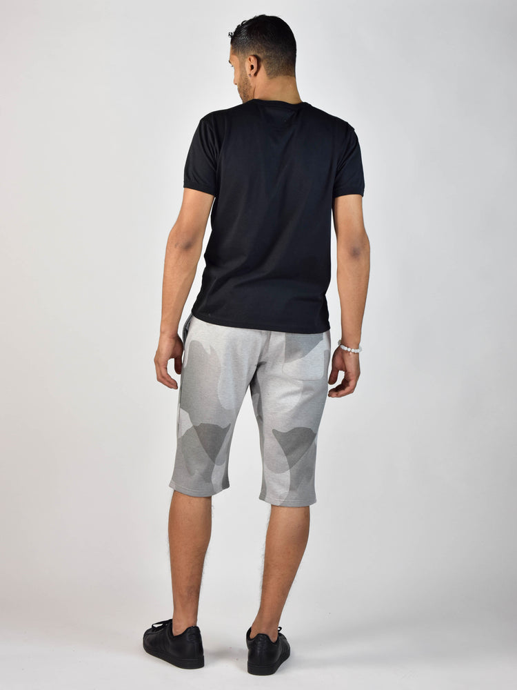 Watercolor 2 Shorts (Heather Grey)