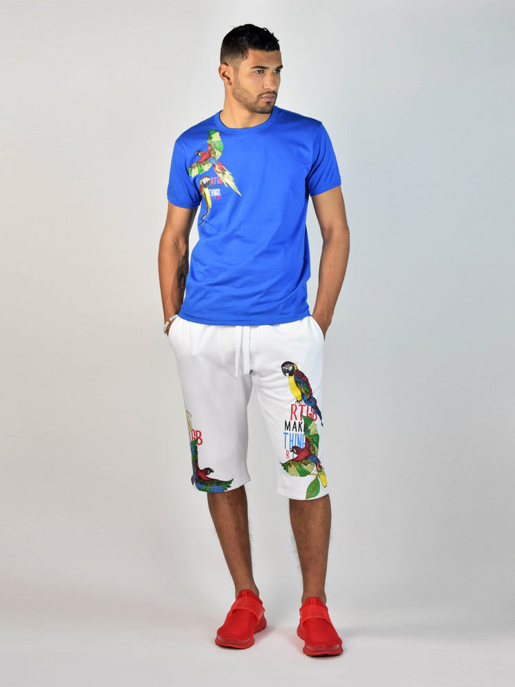 Jungle Birds T-Shirt (Navy)