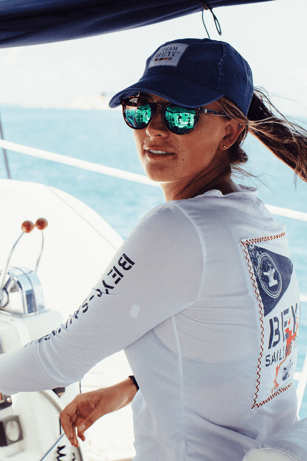 women's sailing team dri-tek from a sail racing gear company
