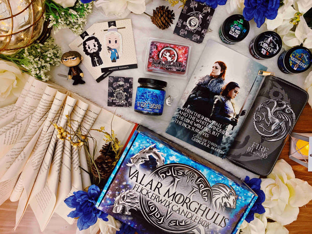 "MAR - ""Valar Morghulis"" Candle Box"