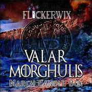 "MAR - ""Valar Morghulis"" Candle Box-Flickerwix"