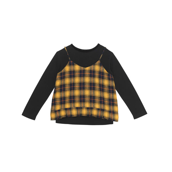 Dionne Top - Clueless Plaid
