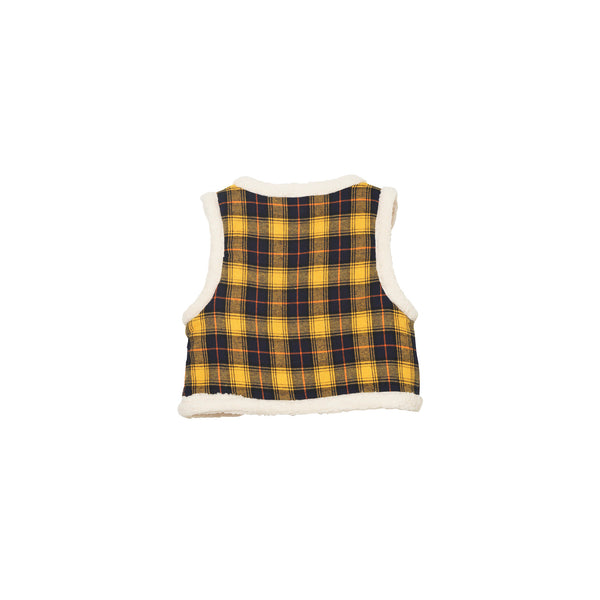 Gwen Vest - Clueless Plaid