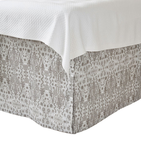 Kelly Pewter Bedskirt