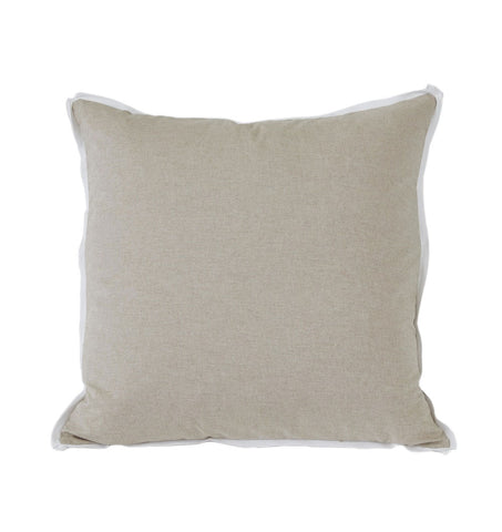 Danish with White Flange Euro Pillow