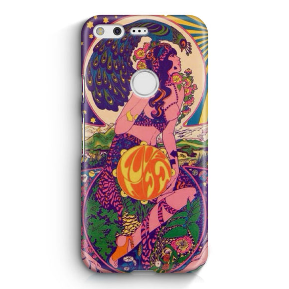 60S Psychedelic Google Pixel Case | Tridicase