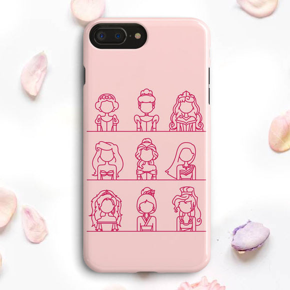 Disney Princess iPhone 7 Plus Case | Tridicase