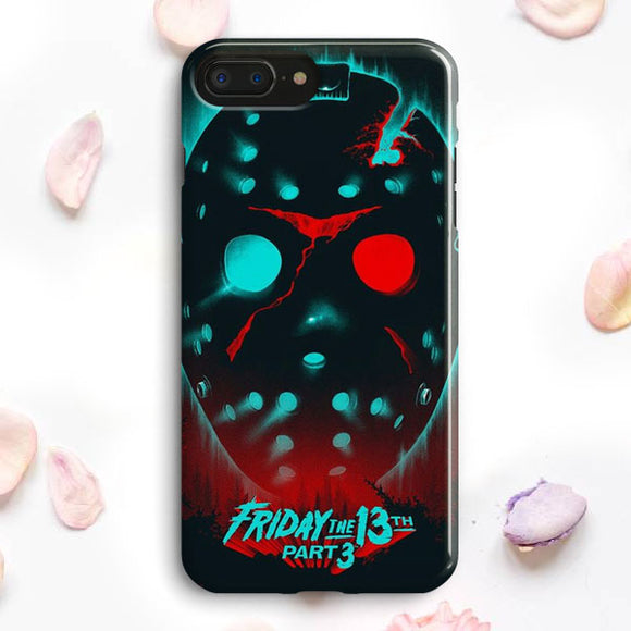 Friday The 13Th Movie Poster iPhone 7 Plus Case | Tridicase