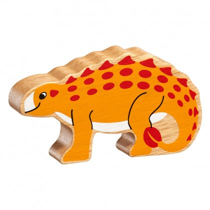 Orange Spikey Dinosaur Shape Toy