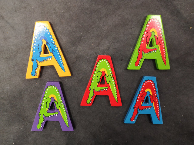 Children's Animal Letters - A