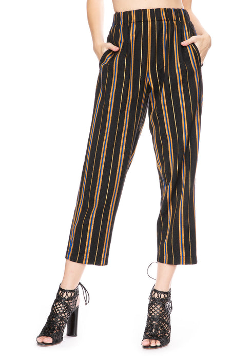 Masai Metallic Stripe Pants