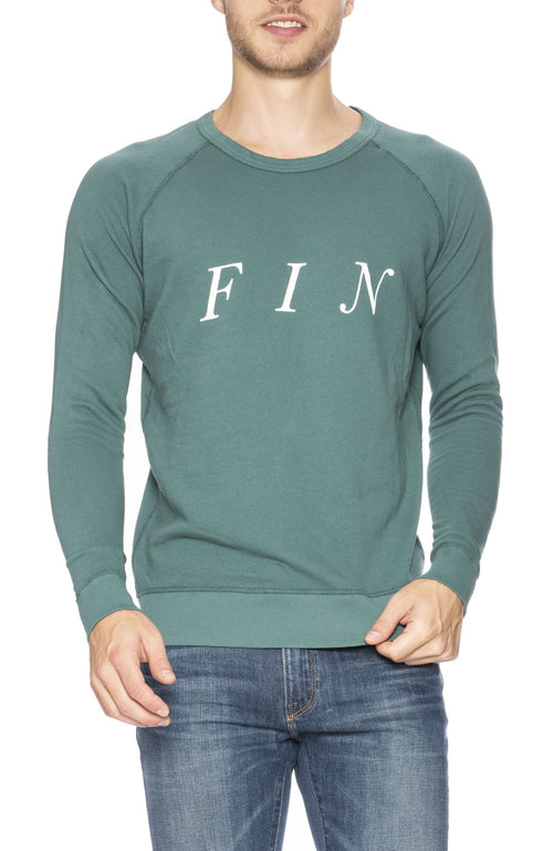 Quality Peoples Fin Crew Neck Sweatshirt