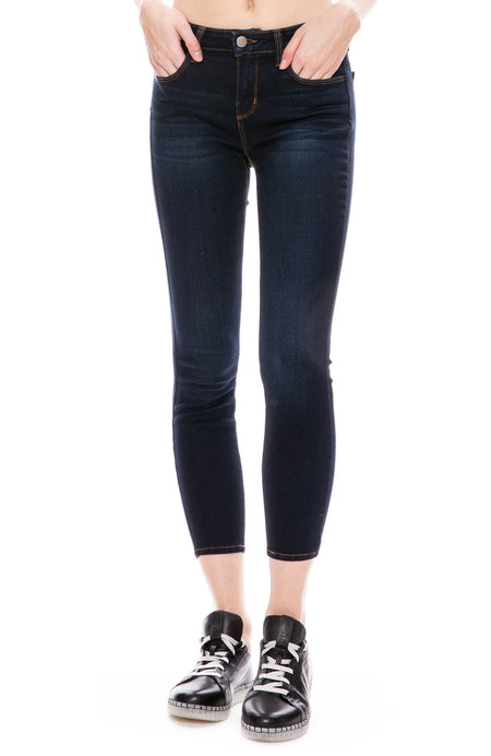 Mazzy Low Rise Jean in Lapis