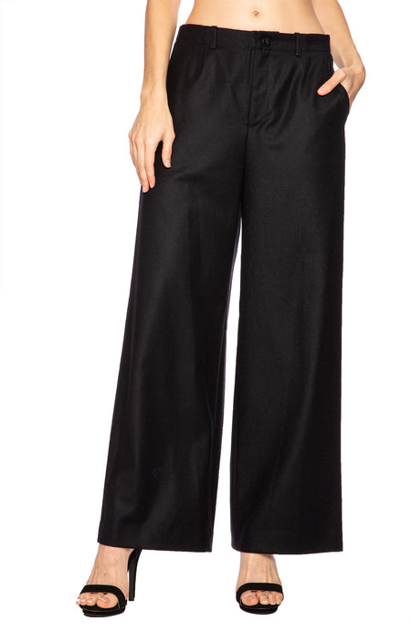 Wool Pajama Trouser