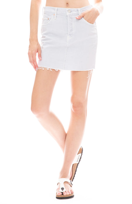 Vagabond Mini Fray Skirt
