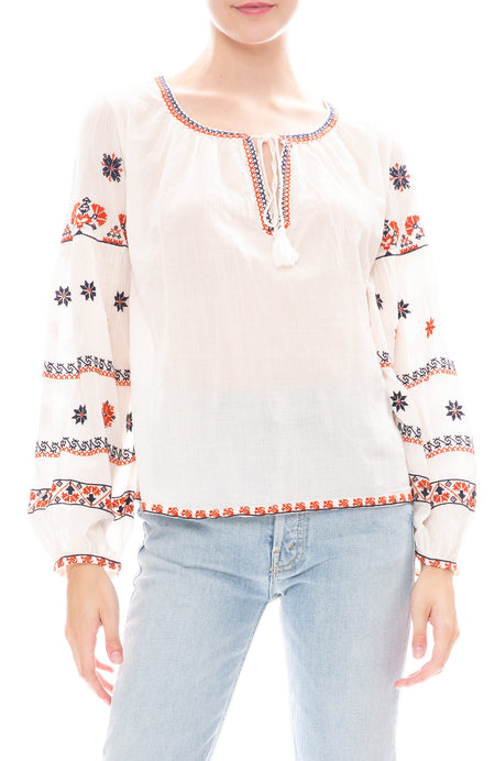 Rilla Embroidered Top