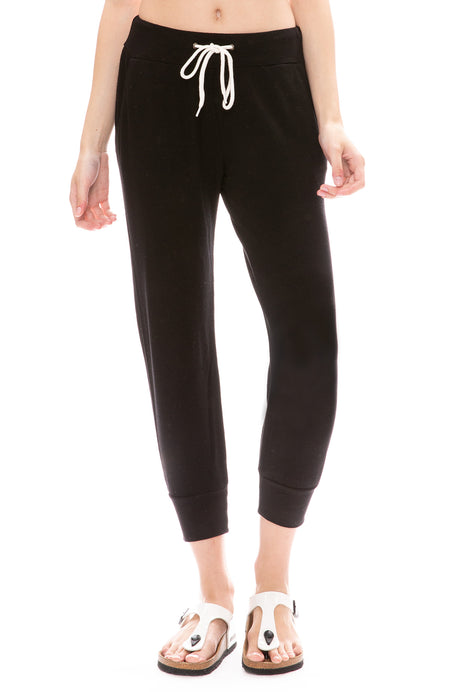 Cropped Sporty Sweatpant