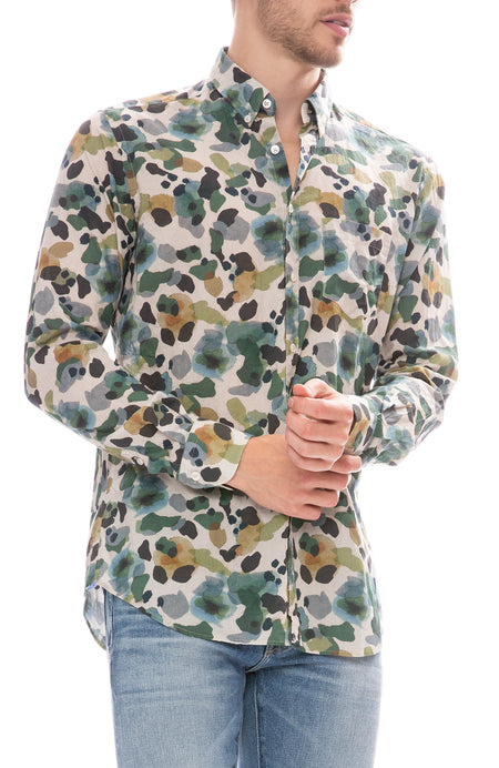 Exclusive Watercolor Camo Shirt