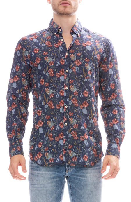 Exclusive Mussola Floral Shirt