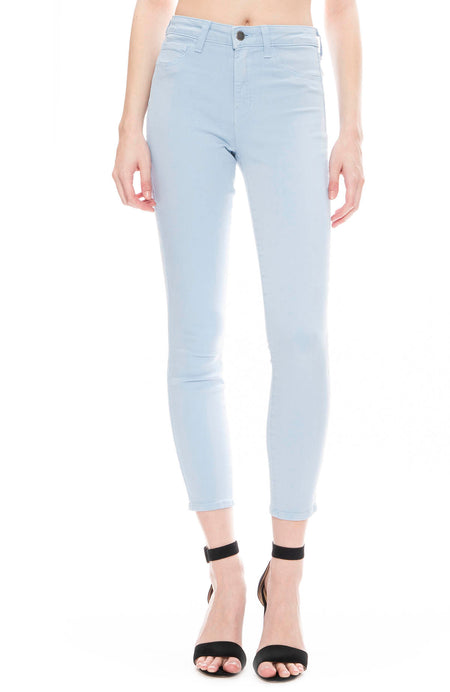 The Margot High Rise Ankle Skinny in Sky Blue