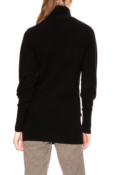 Soyer Victoria Cashmere Turtleneck Sweater in Black at Ron Herman