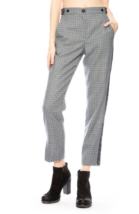 Meki Check Pants