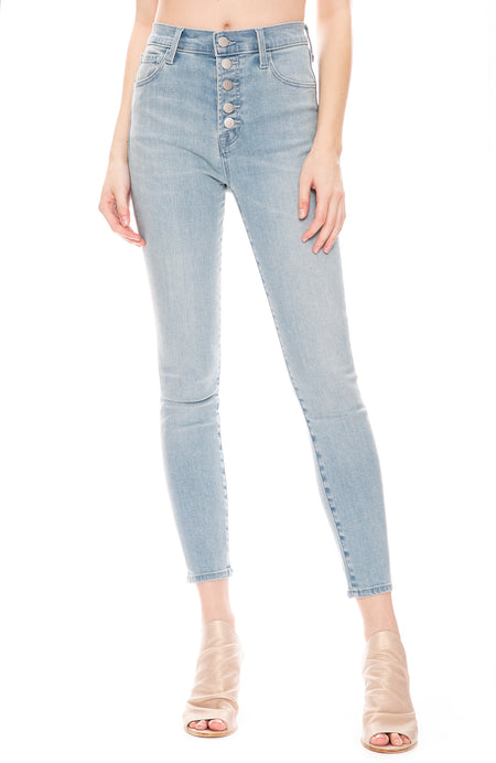 Lillie High Rise Cropped Skinny Jean