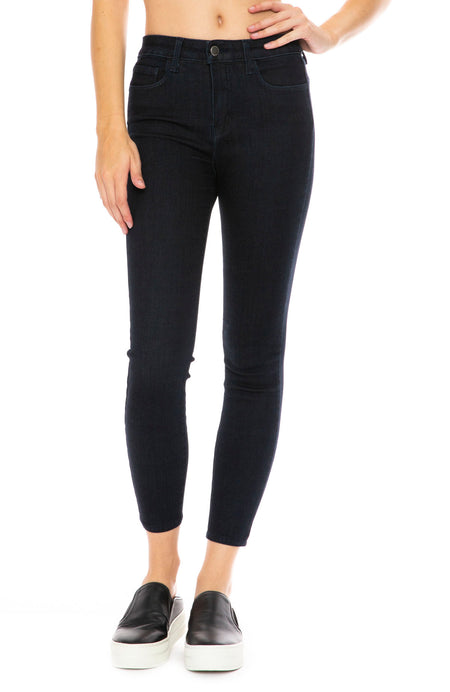The Margot High Rise Ankle Skinny in Eclipse