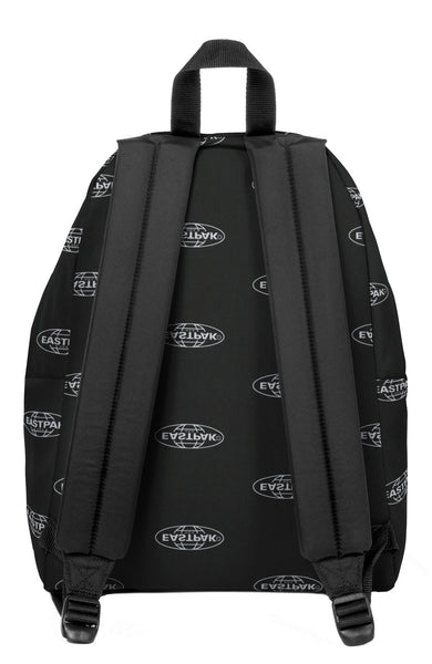 Eastpak Padded Pak'r Backpack in Chatty Logo Print