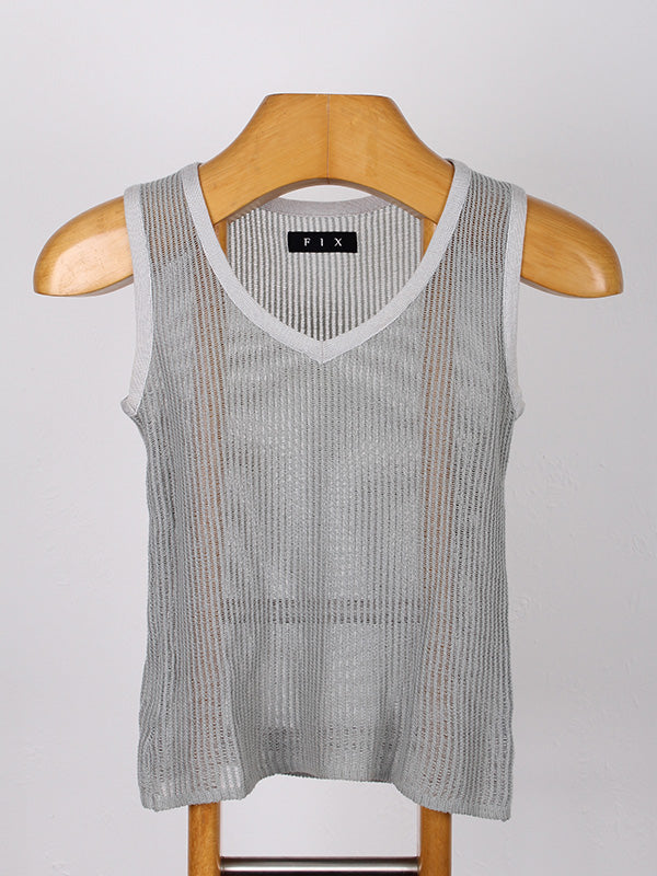 FIX KNITTED SINGLET | SWEET CHARITY STORE | AUCKLAND NZ