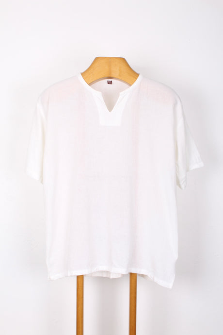 WOVEN COTTON TEE, SIZE M | SWEET CHARITY STORE | AUCKLAND NZ