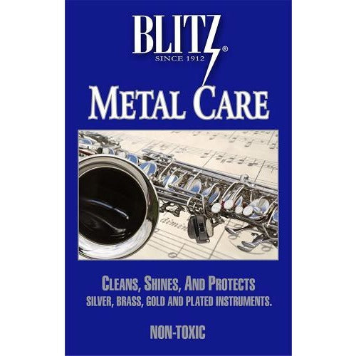 Blitz Metal Care Silver Polishing Cloth